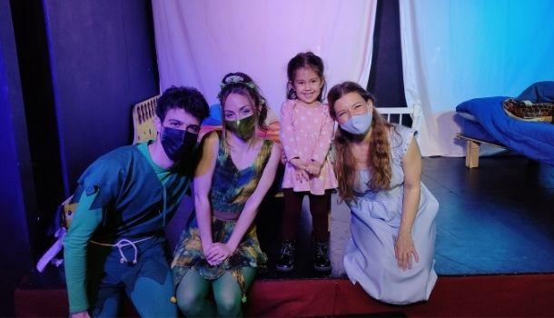 Lee más sobre el artículo Teatro para niños: Peter Pan en sala Teseo