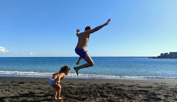 La Palma con niños. playas