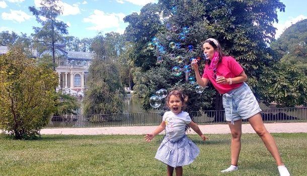 Planes gratuitos con niños en Madrid