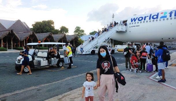Volar con niños El Caribe República Dominicana