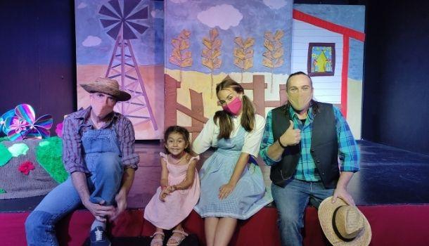 el mago de oz, teatro para niños madrid